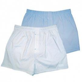 Голубые и белые трусы-шорты