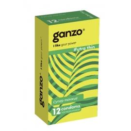 Презервативы Ganzo Супер тонкие 12шт.