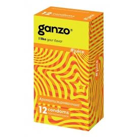 Презервативы Ganzo Ароматизированные 12шт.