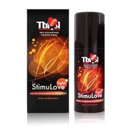 Гель любрикант StimuLove light 20 г.
