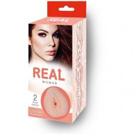 Большой ультра-реалистик мастурбатор «Woman - Рыжая»