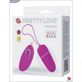 Виброяичко с пультом ДУ Pretty Love «Bradley»