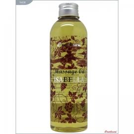 Массажное масло «Isabella» с ароматом винограда «Изабелла» от компании Eroticon, объем 200 мл