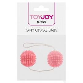Шарики вагинальные GIRLY GIGGLE розовые