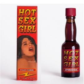 Женские Капли Hot Sex Girl возбуждающие для женщин 20 мл.