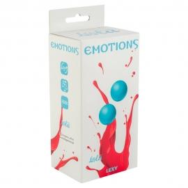 Вагинальные шарики без сцепки Emotions turquoise 2х75, д.3