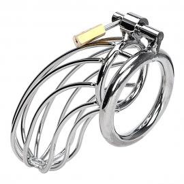 Мужской пояс верности. Диаметр кольца 4,5 см.