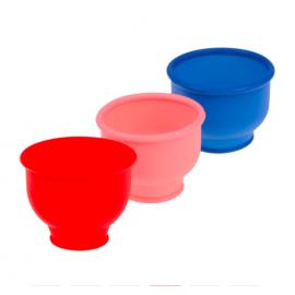 Насадка для помпы, цвет красный, диаметр 5 см. - 2,5 см.